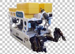 遥控水下车辆自主水下车辆机器人灯系统,工业工人PNG剪贴画电子,