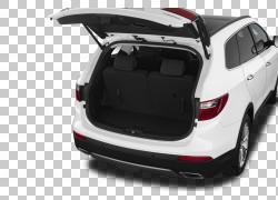 运动型多功能车轮胎2015年现代圣达菲汽车,汽车PNG剪贴画紧凑型汽