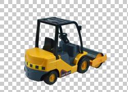 汽车重型设备推土机,推土机模型PNG剪贴画儿童,汽车,工程,封装Pos