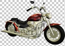 汽车铃木摩托车,复古酷摩托车PNG剪贴画3D计算机图形学,自行车,复