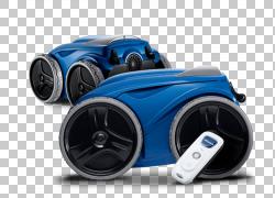 自动泳池清洁器热水浴缸游泳池机器人,机器人PNG剪贴画电子,运动,