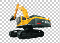 现代汽车公司卡特彼勒公司挖掘机重型机械装载机,现代PNG剪贴画技