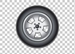 汽车轮胎合金轮圈,汽车轮胎PNG剪贴画卡车,汽车,汽车维修店,运输,