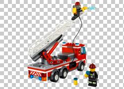消防局乐高城消防员玩具块,消防车PNG剪贴画人,运输方式,车辆,起