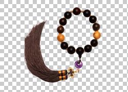 珠宝手链佛教念珠,玫瑰木老油念珠PNG剪贴画杂项,吊坠,手链,男装,
