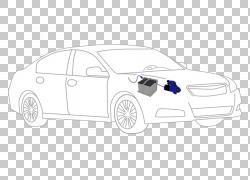 汽车门紧凑型汽车汽车设计线条艺术,汽车电池PNG剪贴画紧凑型汽车