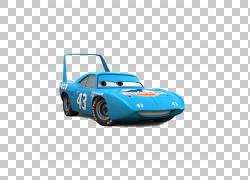 汽车闪电McQueen Mater带国王天气小鸡希克斯,卡通车PNG剪贴画卡