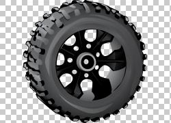 汽车雪轮胎瘪胎车,拿起PNG剪贴画运输,汽车零件,轮辋,胎面,轮胎标