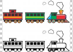 玩具火车铁路运输,Boxcar火车的PNG剪贴画运输方式,卡通,车辆,铁
