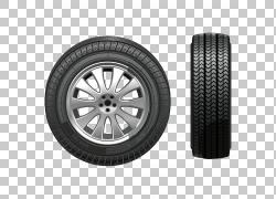汽车雪轮胎雪链,轮胎正面和侧面视图PNG剪贴画冬季,运输,汽车零件