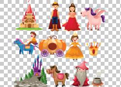 童话故事,城堡,动画,动画,动物,公主,广告设计PNG剪贴画马,传奇生
