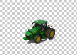 约翰迪尔拖拉机,绿色拖拉机模型玩具PNG剪贴画绿苹果,车辆,运输,