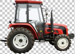 约翰迪尔拖拉机卡特彼勒公司割草机,拖拉机,红色和黑色拖拉机PNG