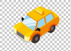 纹理黄色儿童玩具汽车PNG剪贴画汽车事故,儿童,橙色,汽车,运输方