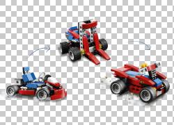 玩具块Lego Creator Go-kart,lego PNG剪贴画摄影,汽车,玩具座,车