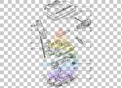 线条艺术素描,设计PNG剪贴画角度,文本,手,汽车,卡通,鞋,汽车部分