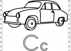 汽车着色书信,卡通赛车的PNG剪贴画紧凑型汽车,汽车,颜色,运输方