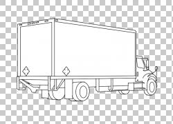 汽车线艺术字体,五十铃卡车PNG剪贴画角,白色,文本,矩形,汽车,运