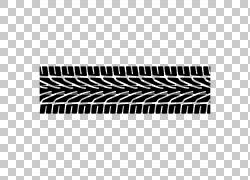 汽车胎面轮胎轴轨道,轮胎PNG剪贴画角,矩形,自行车,单色,黑色,运