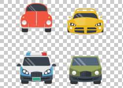 汽车汽车设计,四车前视图PNG剪贴画紧凑型轿车,轿车,汽车事故,老