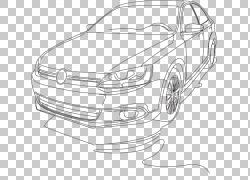 汽车汽车设计大众捷达,汽车艺术品PNG剪贴画紧凑型汽车,汽车事故,
