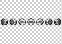 汽车沃尔沃850 Autofelge合金车轮沃尔沃V90,汽车PNG剪贴画单色,