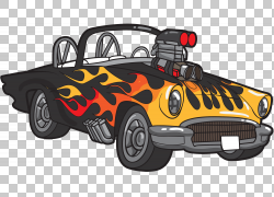 汽车热棒1932福特,热棒PNG剪贴画老式汽车,汽车,运输方式,卡通,运