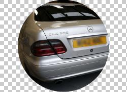 汽车梅赛德斯 - 奔驰CLK级轻型汽车,前大灯PNG剪贴画紧凑型轿车,