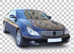 汽车梅赛德斯 - 奔驰W219汽车设计,黑色汽车大PNG剪贴画紧凑型轿