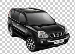 日产X-Trail日产GT-R汽车福特Escape,黑色SUV PNG剪贴画紧凑型汽