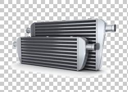 汽车中冷器散热器涡轮增压器增压器,汽车发动机零件PNG剪贴画汽车