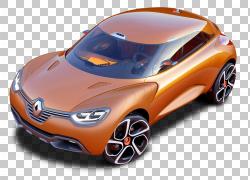 日内瓦车展雷诺Captur雷诺5涡轮增压车,雷诺PNG剪贴画紧凑型轿车,