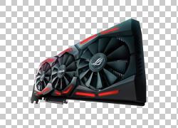 显卡GeForce游戏玩家Nvidia华硕,散热片PNG剪贴画家具,电脑,数字,