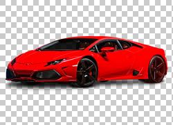 汽车兰博基尼Huracxe1n兰博基尼Aventador兰博基尼Gallardo,红色