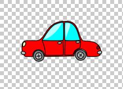 汽车内容,红车的PNG剪贴画紧凑型汽车,驾驶,汽车,运输方式,卡通,