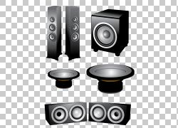 扬声器声音欧几里得,扩音器PNG剪贴画电子产品,麦克风,电脑,生日