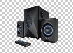 扬声器音频创意科技电脑音箱RCA连接器,音频扬声器PNG剪贴画电视,
