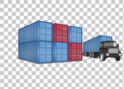 容器和大型汽车PNG剪贴画角,其他,货运运输,汽车,货物,运输,产品,