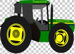 拖拉机John Deere,Animated s Tractor PNG剪贴画标志,农业,车辆,