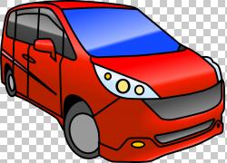 小型货车,Mini Van的PNG剪贴画紧凑型汽车,面包车,卡车,汽车,运输