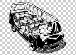 小型货车,迷你货车PNG剪贴画紧凑型轿车,面包车,老式汽车,汽车,运