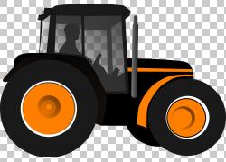 拖拉机约翰迪尔农业,拖拉机PNG剪贴画汽车,农业,车辆,运输,农场,
