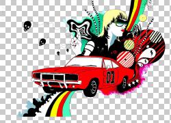 印刷机广告,汽车PNG剪贴画汽车事故,纺织,老式汽车,时尚,标志,汽
