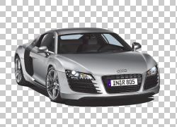 2009奥迪R8汽车奥迪S4,奥迪文件PNG剪贴画汽车,汽车,电脑壁纸,性