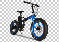 Fat Tire Car电动自行车山地车,自行车PNG剪贴画自行车车架,自行