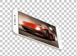 5.5手机Vivo Android智能手机,VIVOX9智能手机华丽模型PNG剪贴画