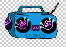 Boombox内容,Boombox的PNG剪贴画紫色,紧凑型汽车,电子产品,紫罗