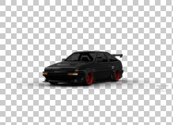 Bumper Compact汽车城市汽车汽车,丰田ae86 PNG剪贴画紧凑型汽车,