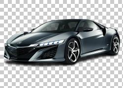 2018年讴歌NSX本田思域跑车,讴歌NSX汽车PNG剪贴画紧凑型汽车,电