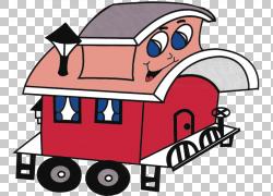 Caboose火车铁路运输,节日PNG剪贴画汽车,运输方式,卡通,车辆,运